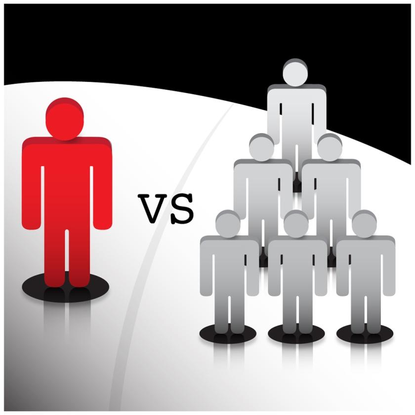 groups vs. individuals