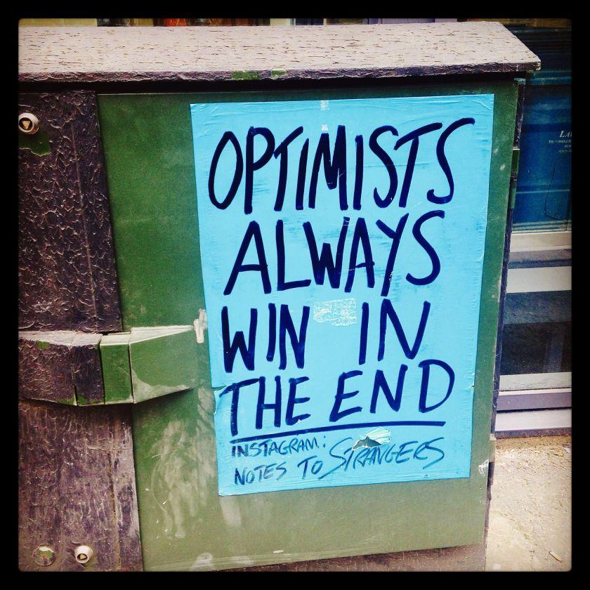 optimists win